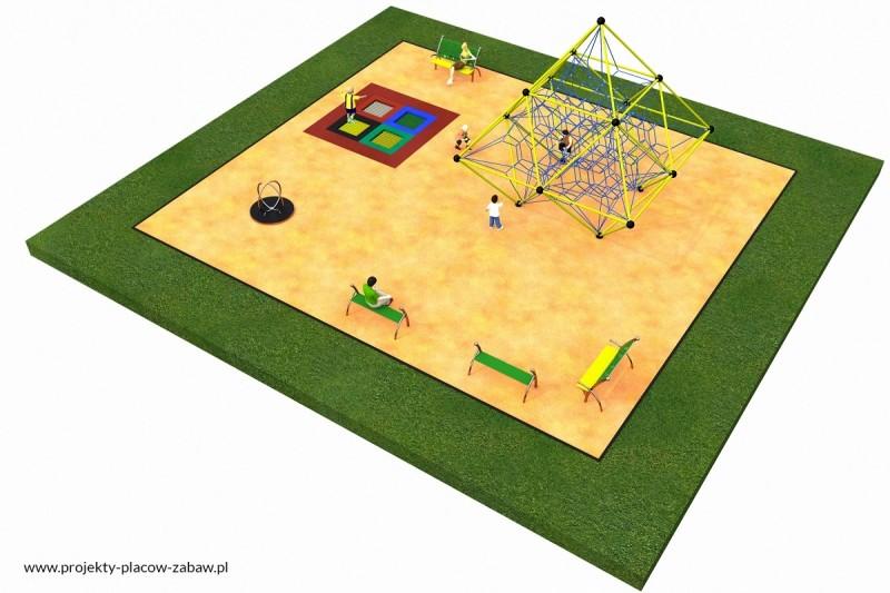 Projekt placu zabaw projekt LINARIUM 5 1