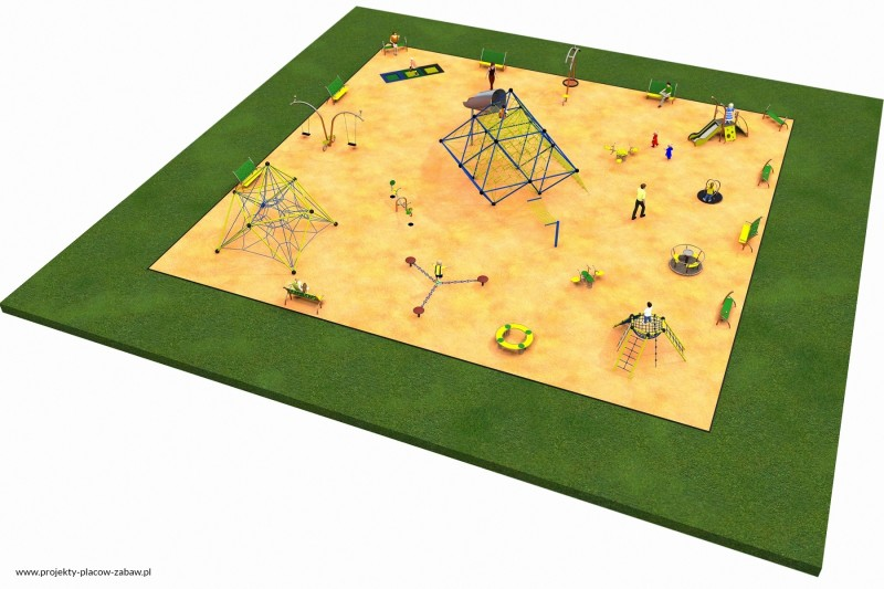 Projekt placu zabaw projekt MULTI 3 1