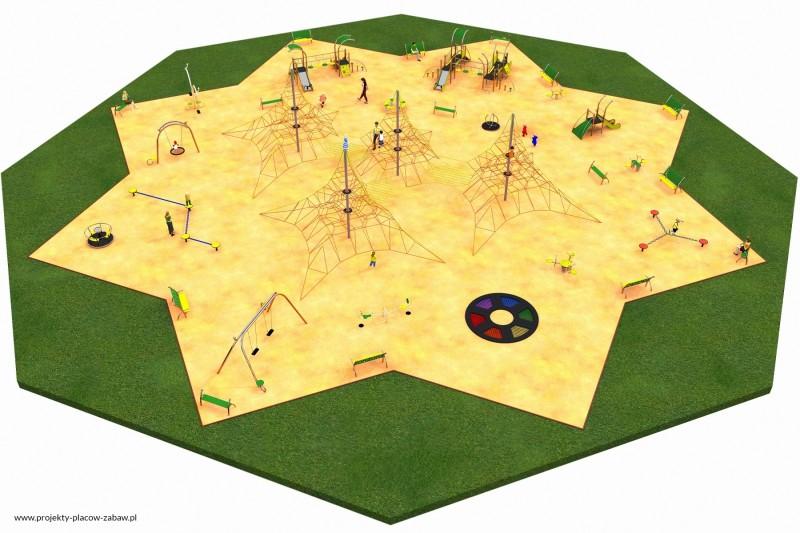 Projekt placu zabaw projekt MULTI 6 1