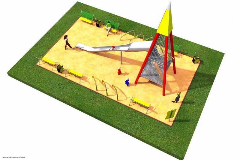 Projekt placu zabaw projekt WIEŻA WIDOKOWA 1 1