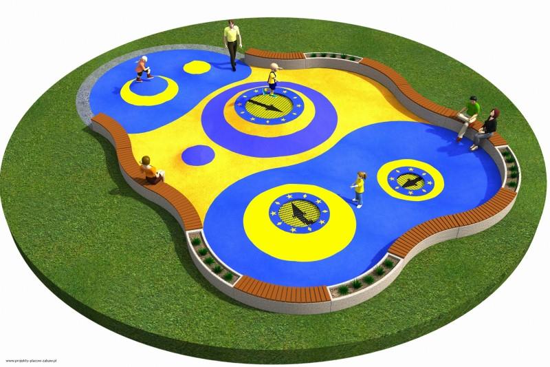 Projekt placu zabaw projekt TRAMPOLINY 10 1