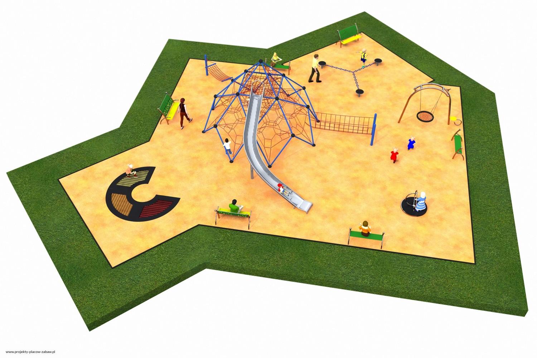 Projekt placu zabaw projekt LINARIUM 10