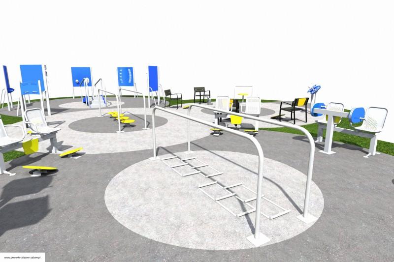 Projekt placu zabaw projekt ACTIVE SENIOR 10 2