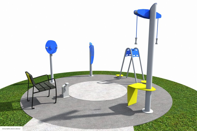 Projekt placu zabaw projekt ACTIVE SENIOR 2 2
