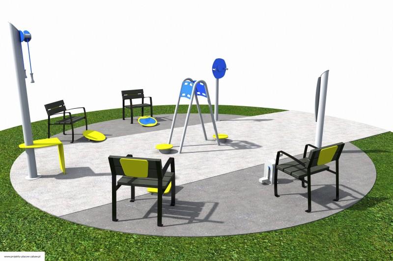 Projekt placu zabaw projekt ACTIVE SENIOR 3 2