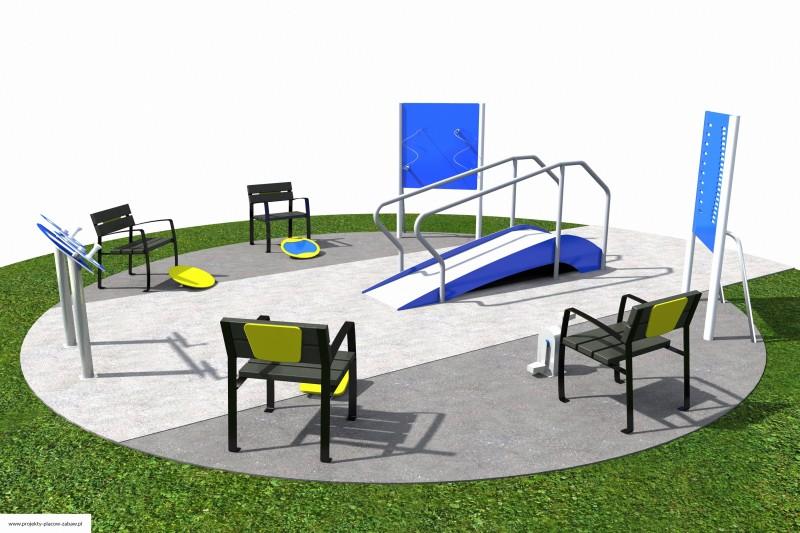 Projekt placu zabaw projekt ACTIVE SENIOR 6 2