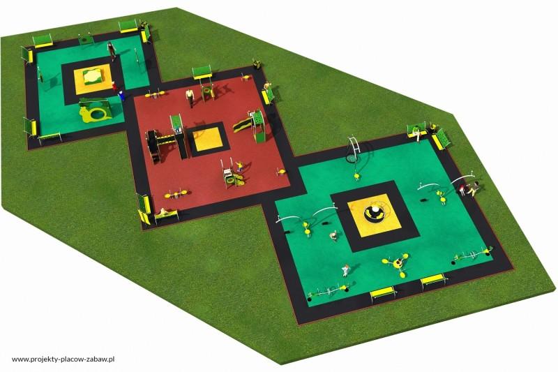 Projekt placu zabaw projekt LIMAKO MALUCH 8 2