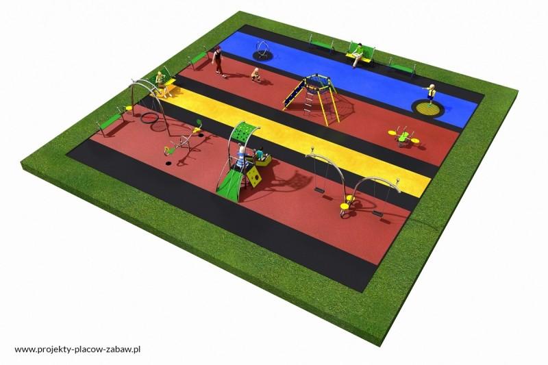 Projekt placu zabaw projekt LINARIUM 3 2