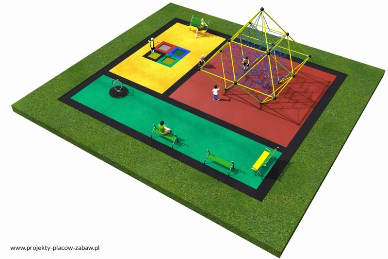 Projekt placu zabaw projekt LINARIUM 5 2