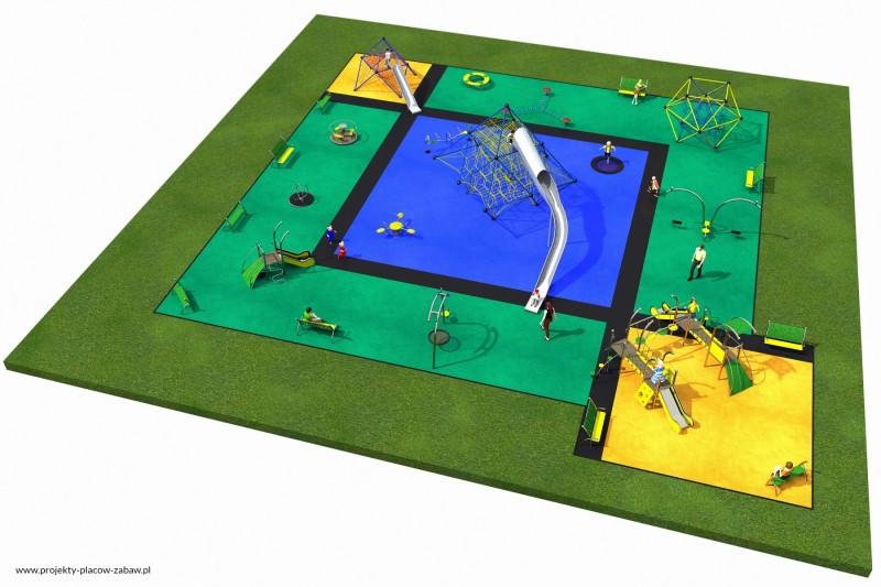 Projekt placu zabaw projekt MULTI 2 2