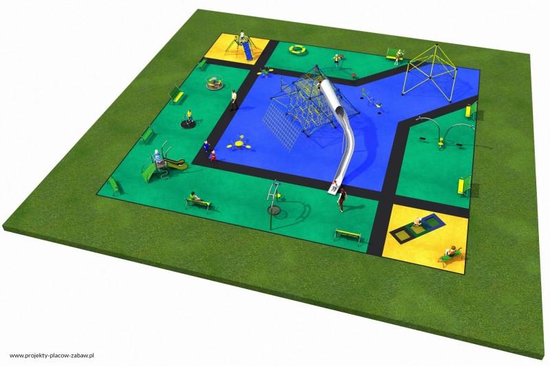 Projekt placu zabaw projekt MULTI 3 2