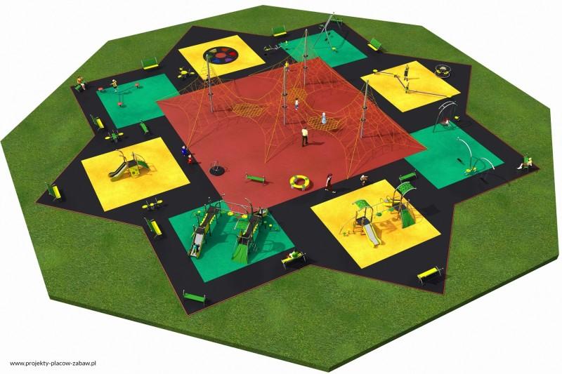 Projekt placu zabaw projekt MULTI 6 2