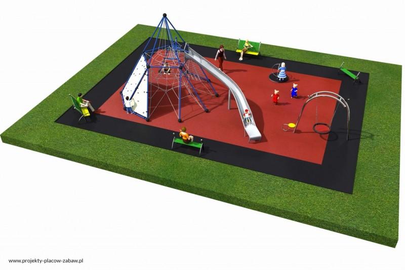 Projekt placu zabaw projekt LINARIUM 11a 2