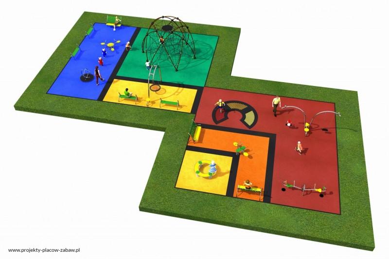Projekt placu zabaw projekt LINARIUM 7 2
