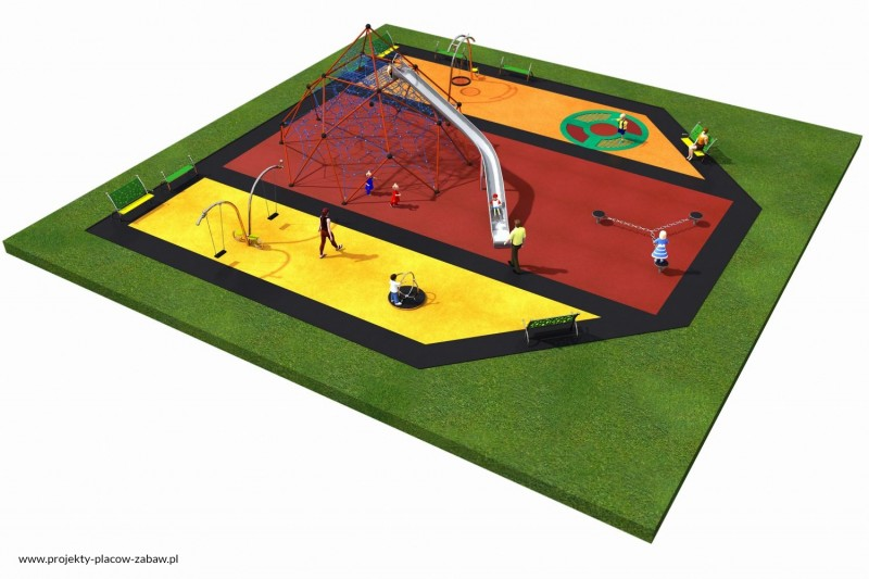 Projekt placu zabaw projekt LINARIUM 8 2