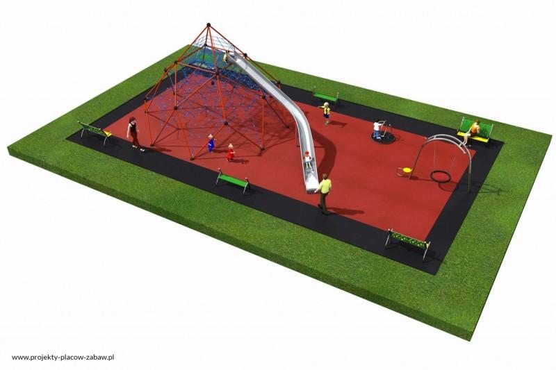 Projekt placu zabaw projekt LINARIUM 8a 2