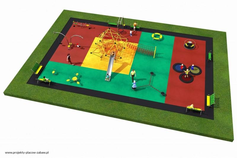 Projekt placu zabaw projekt LINARIUM 9 2