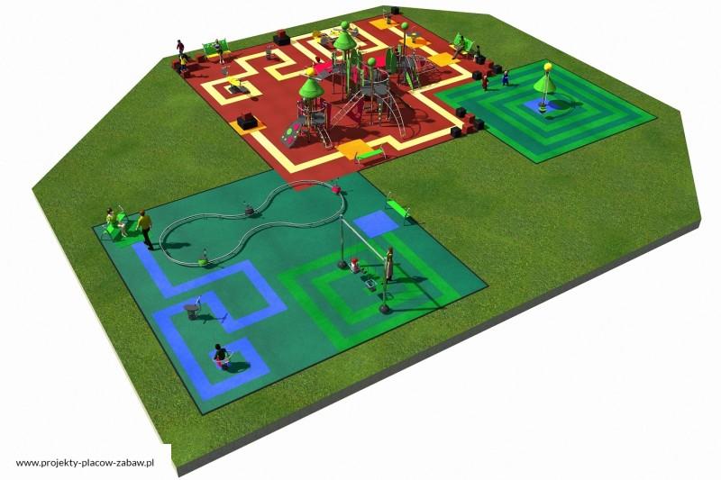 Projekt placu zabaw projekt COLOR KIDS 10 3