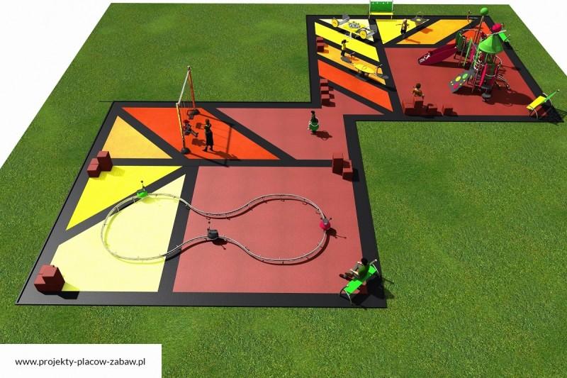Projekt placu zabaw projekt COLOR KIDS 9 3