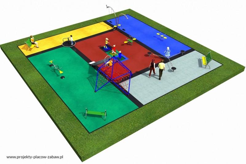 Projekt placu zabaw projekt LINARIUM 1a 3