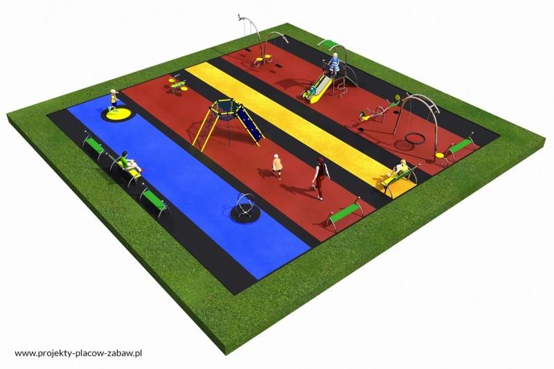 Projekt placu zabaw projekt LINARIUM 3 3
