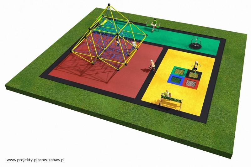 Projekt placu zabaw projekt LINARIUM 5 3