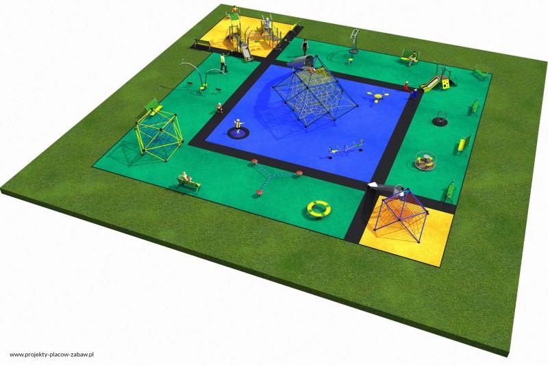 Projekt placu zabaw projekt MULTI 2 3