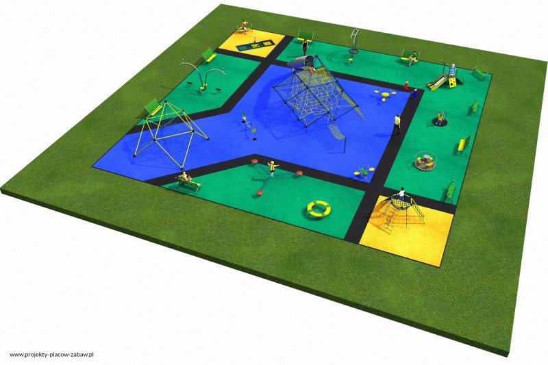 Projekt placu zabaw projekt MULTI 3 3