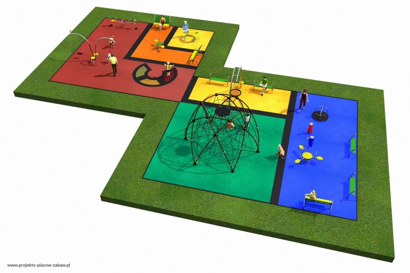 Projekt placu zabaw projekt LINARIUM 7 3