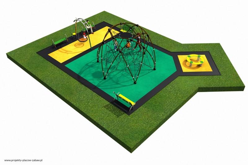 Projekt placu zabaw projekt LINARIUM 7a 3