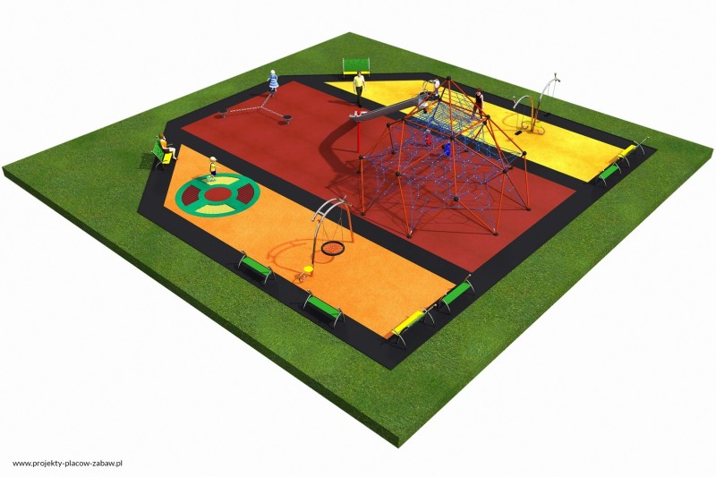 Projekt placu zabaw projekt LINARIUM 8 3