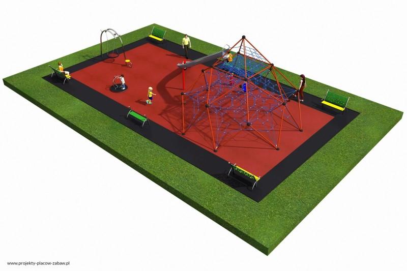 Projekt placu zabaw projekt LINARIUM 8a 3