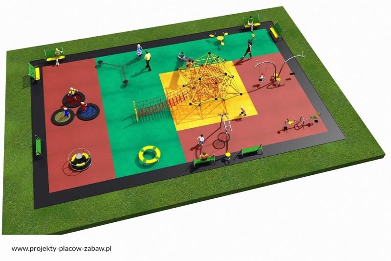 Projekt placu zabaw projekt LINARIUM 9 3